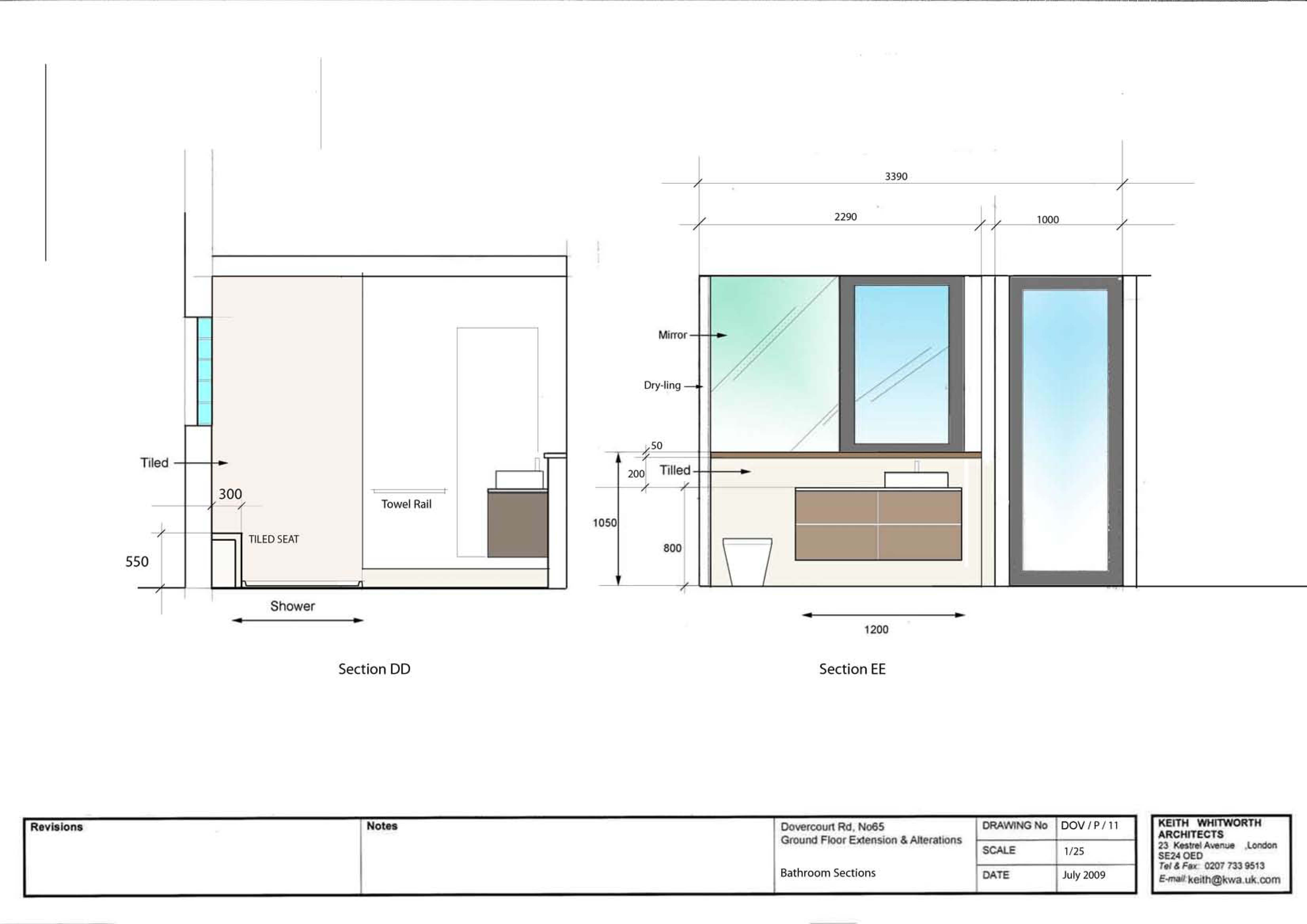 Floor Plan Shower Symbol 65 Dovercourt Road